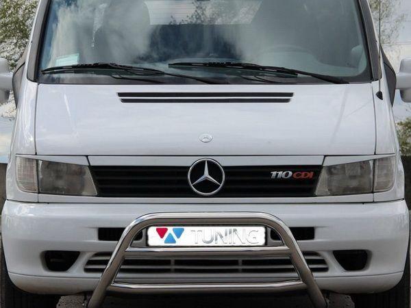 Бедлук на решётку MERCEDES Vito W638 - фото #3