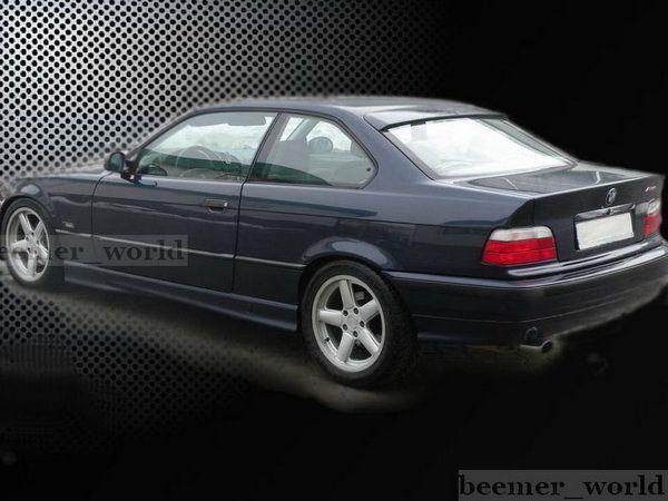 Спойлер на стекло (бленда) BMW E36 (1990-2000) Coupe