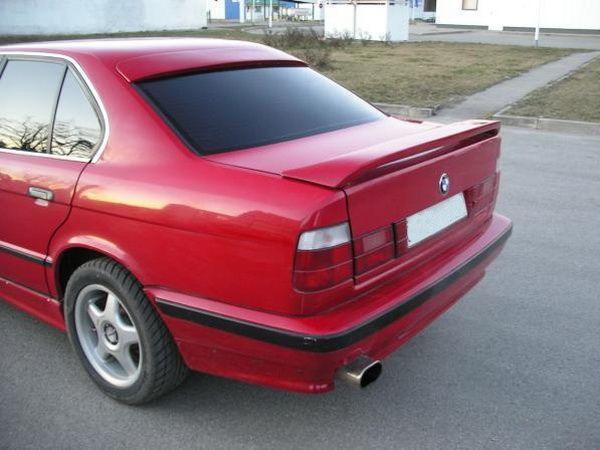 Спойлер багажника BMW E36 (1990-2000) Sedan (низкий)