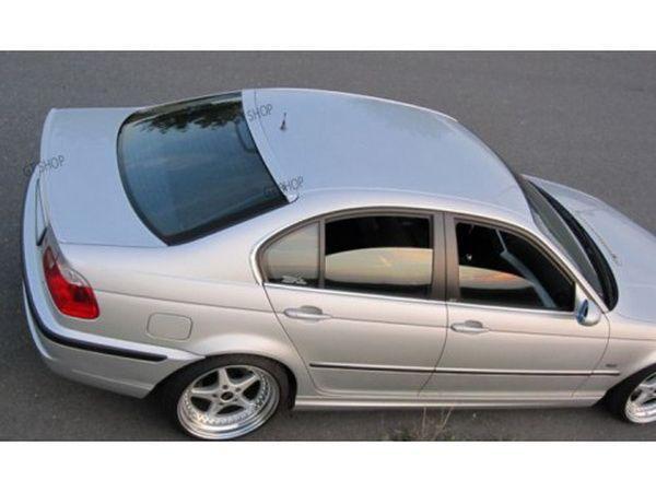 Спойлер на стекло BMW E46 Sedan бленда узкая
