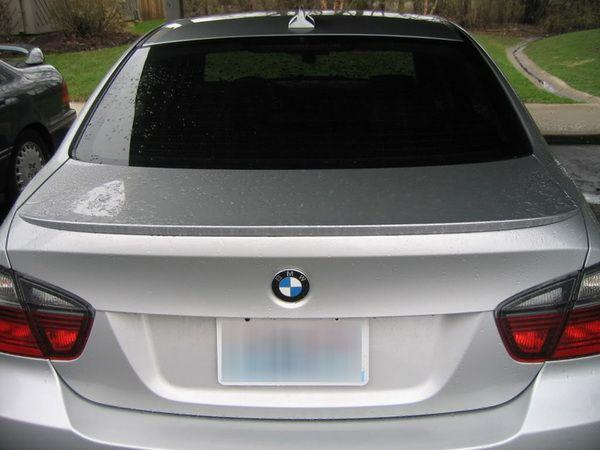 "Спойлер багажника лип BMW E90 (2005-2012) ""M3"""