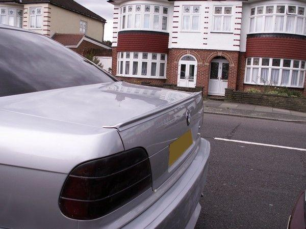 Спойлер багажника лип BMW E38 (1994-2001) Sedan