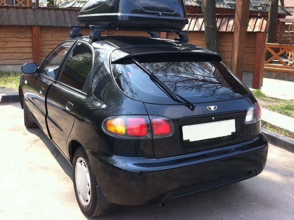 Спойлер над стеклом DAEWOO Lanos (1997-) Hatchback