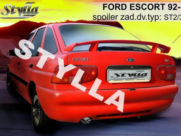 Спойлер багажника FORD Escort (1993-2001) 3/5D Hatchback