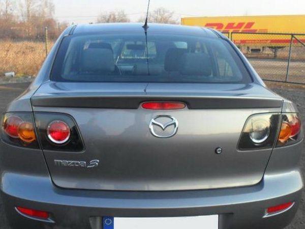 Лип спойлер багажника MAZDA 3 (BK) (2003-2008) Sedan