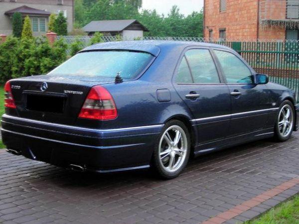 Спойлер - бленда MERCEDES W202 (1993-2001) Sedan