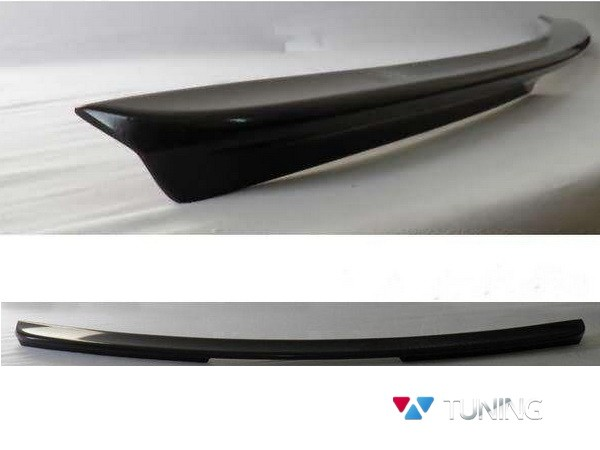 Лип спойлер багажника MERCEDES E W211 Sedan - AMG стиль - GRP