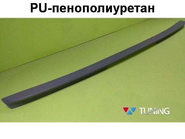 Лип спойлер багажника MERCEDES E W211 Sedan - AMG стиль - PU - фото #2