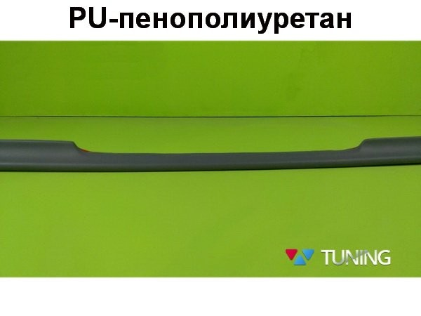 Лип спойлер багажника MERCEDES E W211 Sedan - AMG стиль - PU - фото #3