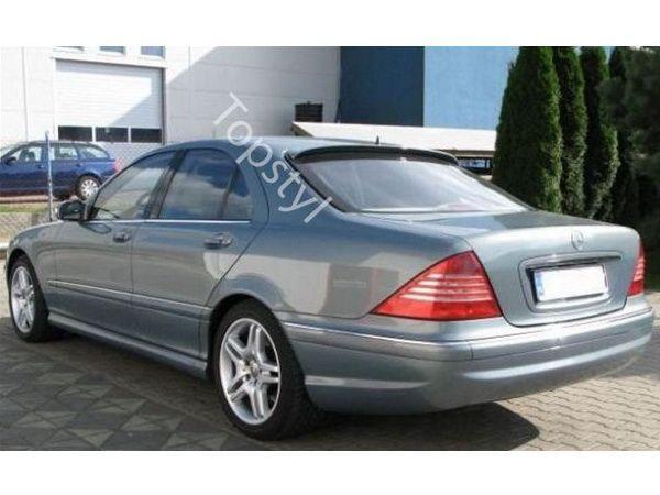 Спойлер - бленда MERCEDES S W220 (1998-2005)