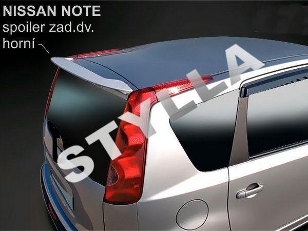 Спойлер - козырёк NISSAN Note I E11 (2004-2013) Hatchback
