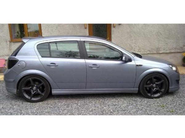 Спойлер OPEL Astra H (2004-) 5D Hatchback