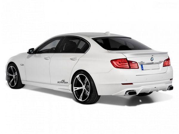 Спойлер багажника лип BMW 5 F10 (2010-) Sedan - AC SCHNITZER - фото #2