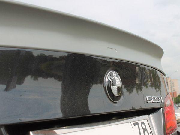 Спойлер багажника лип BMW 5 F10 (2010-) Sedan - AC SCHNITZER - фото #4