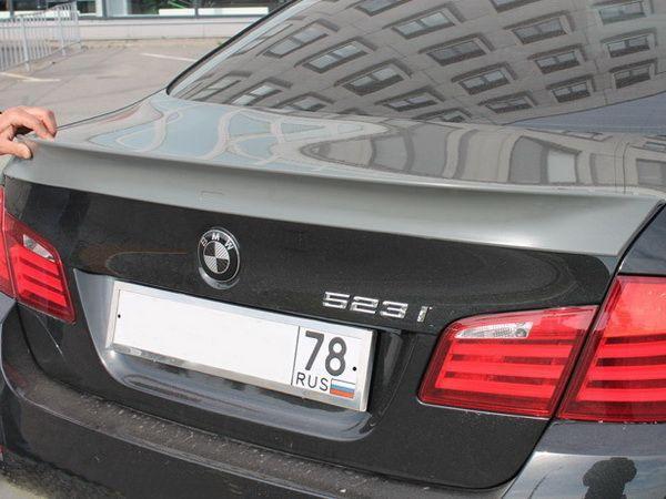 Спойлер багажника лип BMW 5 F10 (2010-) Sedan - AC SCHNITZER - фото #5