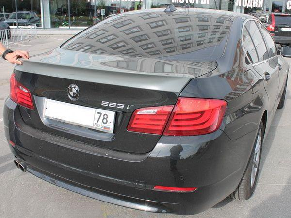 Спойлер багажника лип BMW 5 F10 (2010-) Sedan - AC SCHNITZER - фото #6