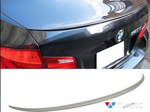 Спойлер багажника лип BMW 5 F10 (2010-) Sedan - M5 стиль