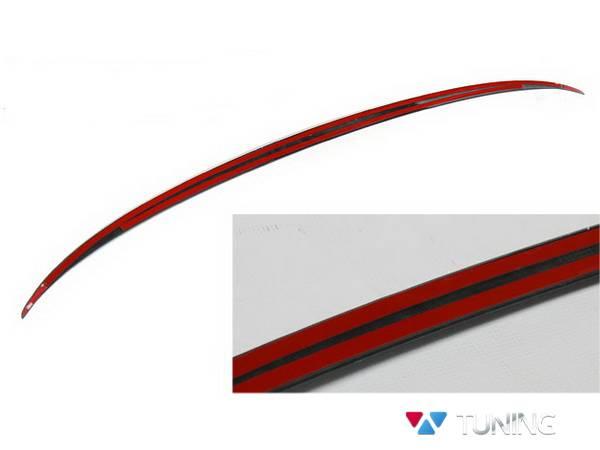 Спойлер багажника лип BMW 5 F10 Sedan - M5 стиль - фото #4
