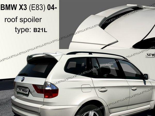 Спойлер на крышу BMW X3 E83 (2003-) - Stylla