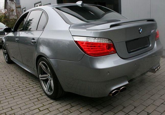 Спойлер багажника BMW E60 (2003-2010) Sedan