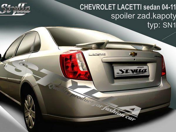 "Спойлер CHEVROLET Lacetti (2004-2011) Sedan ""SN1"""