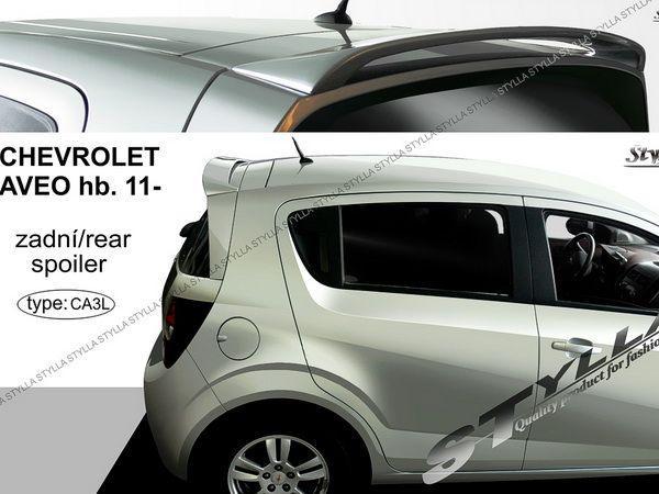 Спойлер над стеклом CHEVROLET Aveo T300 (2011-) Hatchback