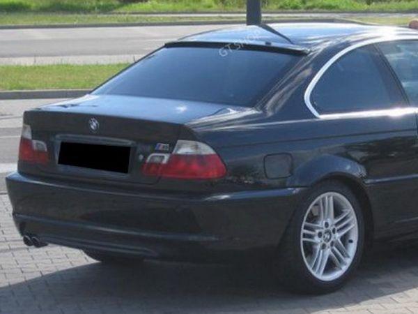Спойлер - бленда BMW E46 Coupe козырьком узкая