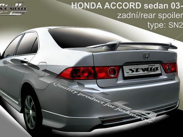 Спойлер багажника HONDA Accord VII (2002-2008) - SN2 - фото #2