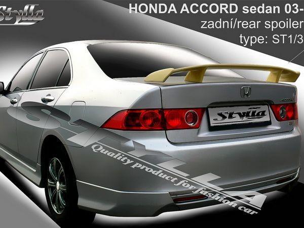 Спойлер багажника HONDA Accord VII (2002-2008) - ST1 - фото #2