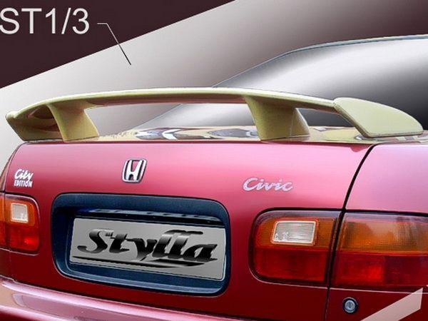 """Спойлер багажника HONDA Civic V (1991-1995) Sedan """"ST1"""""""