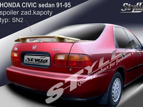 """Спойлер багажника HONDA Civic V (1991-1995) Sedan """"SN2"""""""