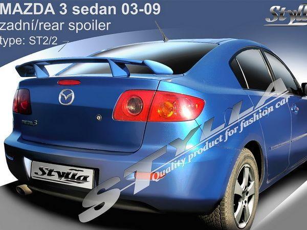 "Спойлер багажника MAZDA 3 (BK) (2003-2009) Sedan ""ST2/2"""