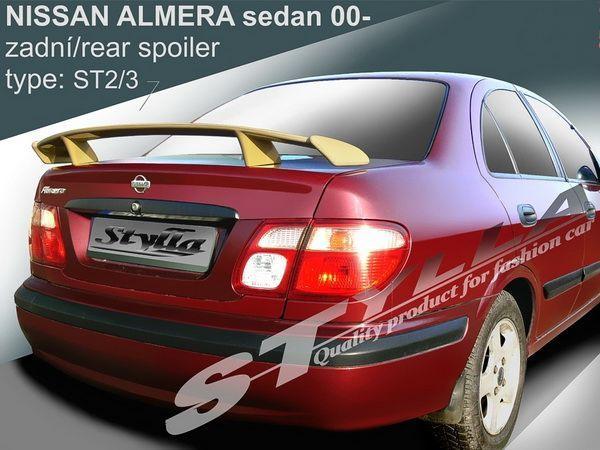 Спойлер на ножках NISSAN Almera N16 (2000-2006) Sedan