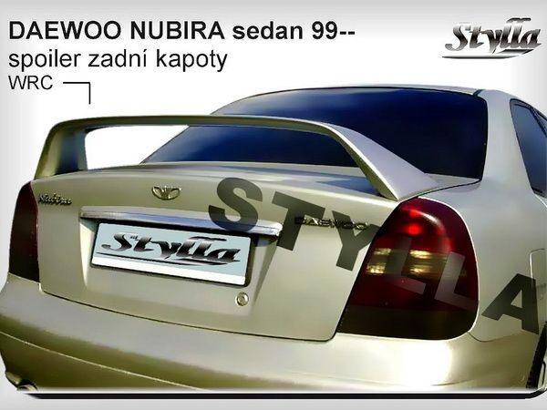 Спойлер багажника DAEWOO Nubira II (1999-) Sedan