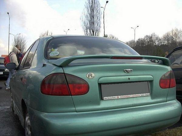 Спойлер багажника DAEWOO Lanos (1997-) Sedan