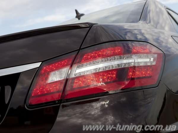 Спойлер MERCEDES W212 (09-16) Sedan - AMG стекловолокно 4