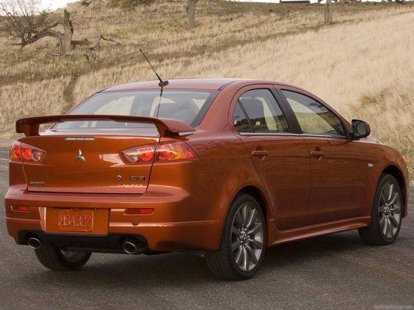 "Спойлер багажника MITSUBISHI Lancer X (2007-) Sedan ""OEM"""