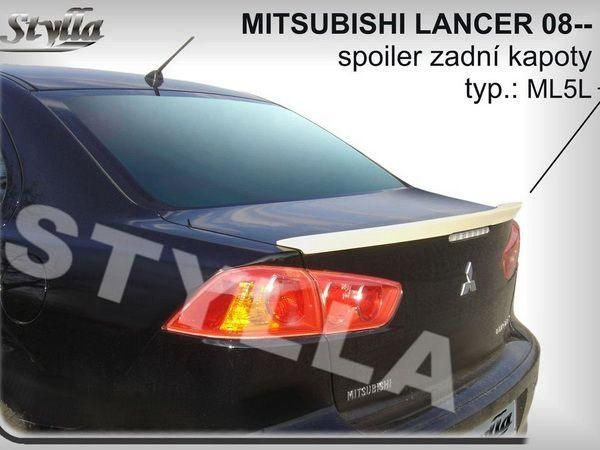 Лип спойлер багажника MITSUBISHI Lancer X (2007-) Sedan