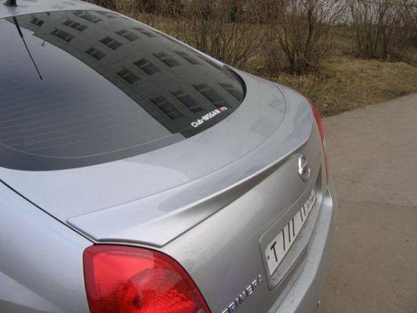 Лип спойлер NISSAN Primera P12 (2002-2008) Hatchback