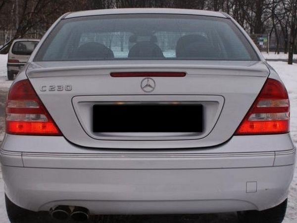 Спойлер багажника MERCEDES W203 Sedan - AMG стиль 2