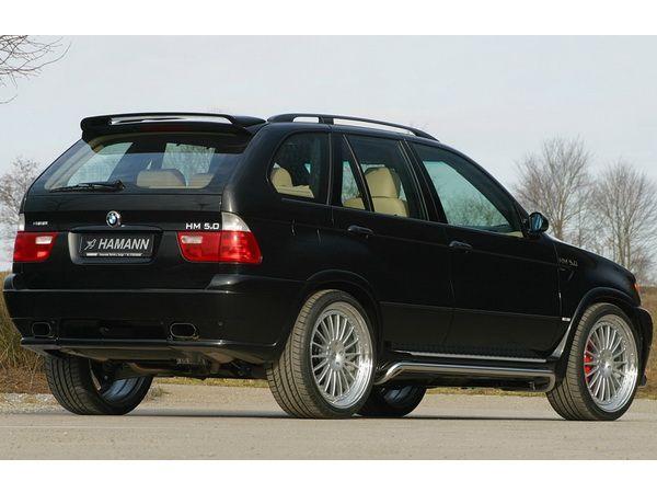 Спойлер BMW X5 E53 (2000-2006) - HAMANN - фото #3