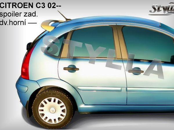 """Спойлер CITROEN C3 (2002-) Hatchback """"CC2L"""""""