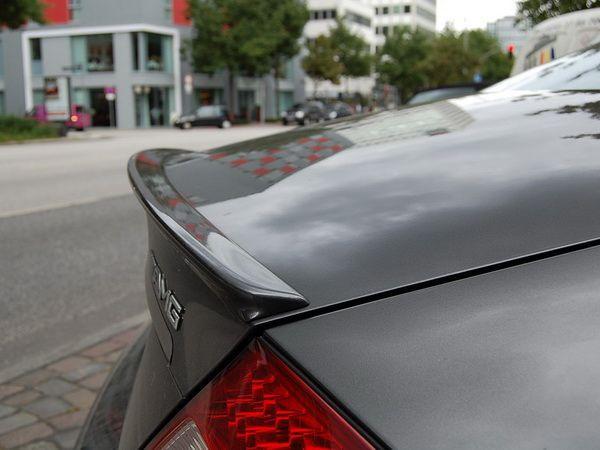 Лип спойлер багажника AMG MERCEDES CLS W219 (04-10)