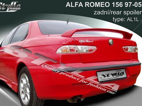 Спойлер багажника ALFA ROMEO 156 - SL1 стиль - низкий 2