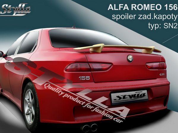 """Спойлер багажника ALFA ROMEO 156 (97-05) """"SN2"""""""