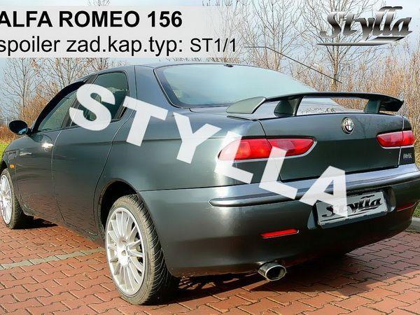 Спойлер багажника ALFA ROMEO 156 - ST1 стиль - на ножках 2