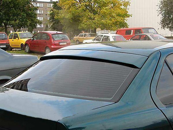 Спойлер на стекло (бленда) BMW E36 Sedan - ABS пластик 2