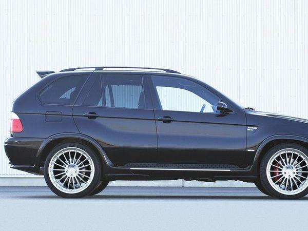 Спойлер BMW X5 E53 (2000-2006) - HAMANN - фото #4