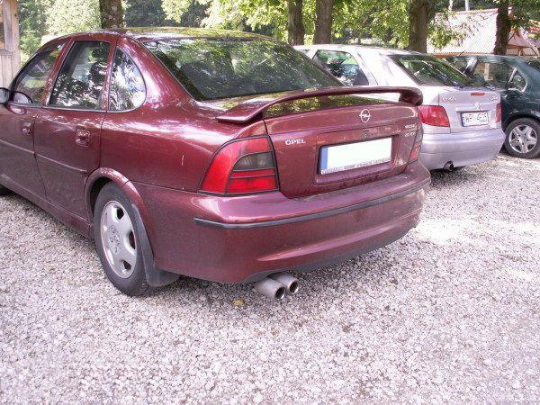 Спойлер багажника OPEL Vectra B (95-02) ver. 1