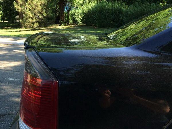 Лип спойлер багажника OPEL Vectra C (02-08) Sedan/Hb ABS